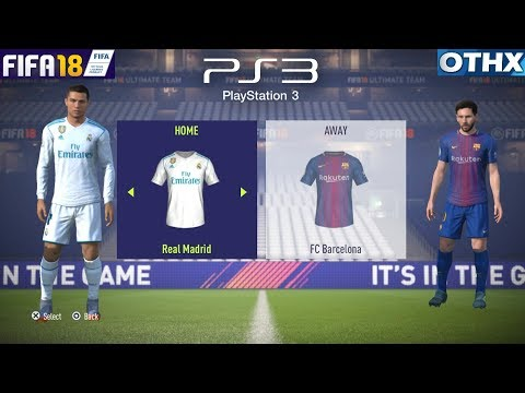 FIFA 18 PS3 | Barcelona vs Real Madrid (El Clasico) | FULL Game [HD] | @Onnethox