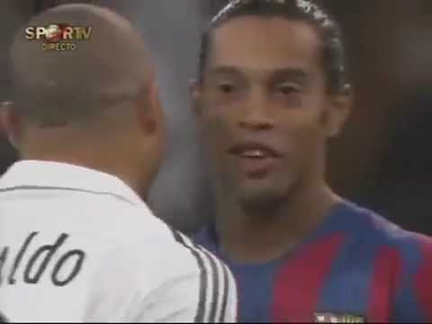 Real madrid vs Barcelona 2005 ' full match'