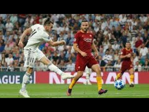REAL MADRİD VS ROMA GOALS HD
