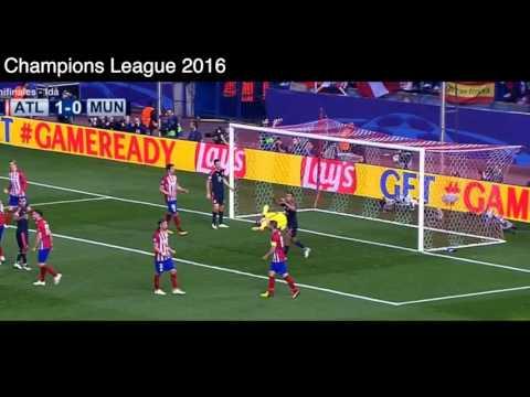 Gol de Saul Ñiguez vs Bayern Munich, Atlético de Madrid 1 – 0 Bayern Munich, Semifinales UCL 2016.