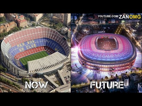 10 Football Stadiums | Now & In The Future | Ft. Camp Nou, Türk Telekom Arena, Stamford Bridge…etc