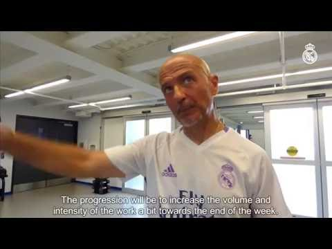 Real Madrid's new fitness coach explains the players' pre-season work