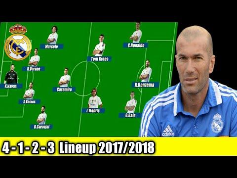 Real Madrid Potential Lineup Next Season 2017-18