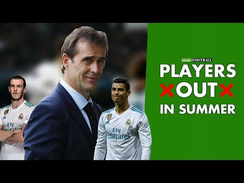 Real Madrid Transfer News – 5 Players Julen Lopetegui Could Sell