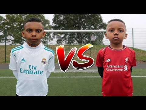 RONALDO vs MOHAMED SALAH FOOTBALL CHALLENGE!!