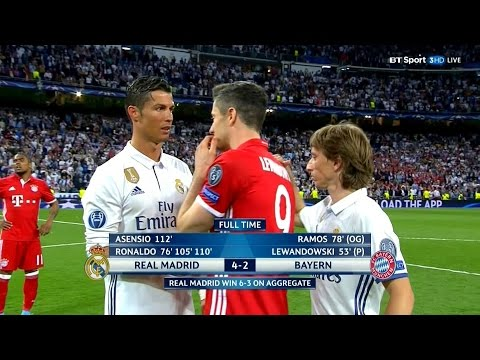 Cristiano Ronaldo vs Bayern Munich HD 1080i Home (18/04/2017)