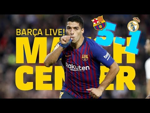 #ElClásico BARÇA – MADRID (5-1) | LIVE SHOW | Match Center