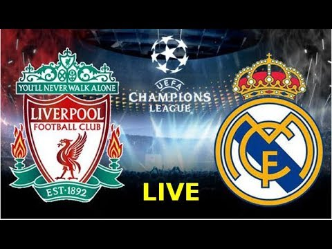 Real Madrid vs Liverpool LIVE Final KYIV 2018