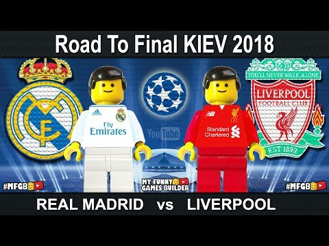 Road to Kiev • Champions League Final 2018 • Real Madrid vs Liverpool • Kyiv 2018 • Lego Football