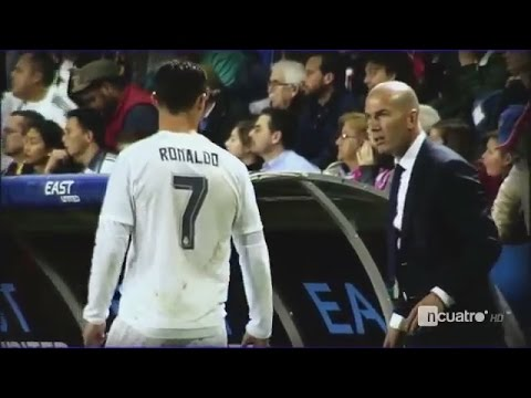 Zinadine Zidane Anger on Cristiano Ronaldo when he doesn't understand orders vs Levante