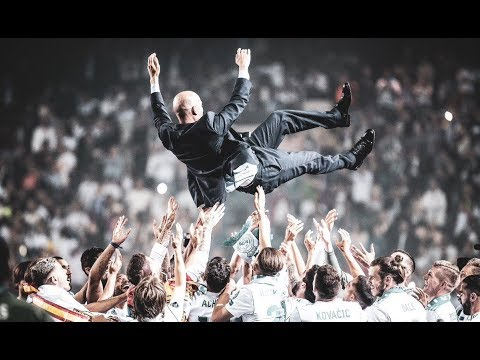 Zinedine Zidane Top 5 Memorable Games at Real Madrid 2016-2018 ● Merci, Zizou!