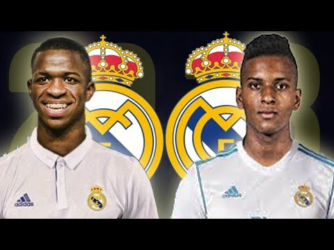 Vinicius Jr & Rodrygo Goes 2018 – The Future of Real Madrid HD