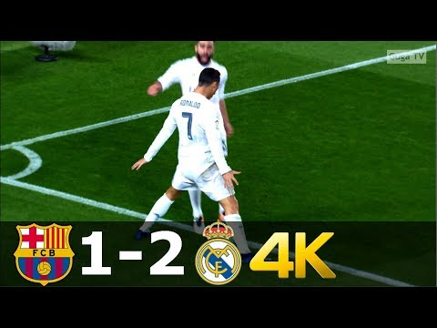 Barcelona vs Real Madrid 1-2 UHD 4k – La Liga 2015/2016 – Highlights (English Commentary)