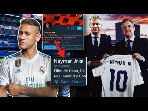 LATEST TRANSFER NEWS – Has Neymar Revealed his Transfer from PSG to REAL MADRID