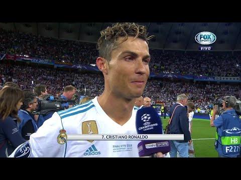 ¿Se despide Cristiano Ronaldo del Real Madrid? Miren lo que dijo