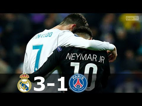 Real Madrid vs Paris Saint Germain 3-1 – UCL 2017/2018 – Highlights (English Commentary) HD