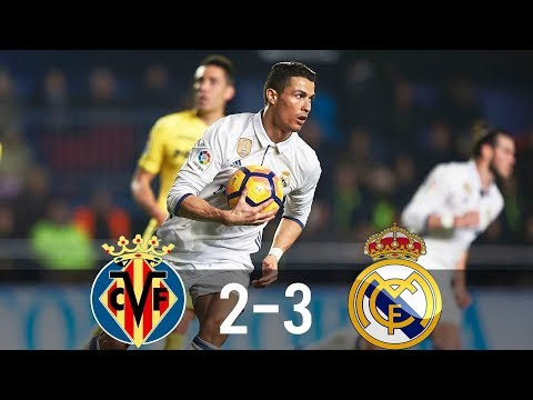 Villarreal vs Real Madrid 2-3 – All Goals & Extended Highlights – La Liga 26/02/2017 HD