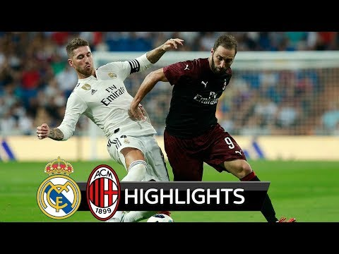 Real Madrid vs AC Milan 3-1 – All Goals & Extended Highlights – Friendly 11/08/2018 HD