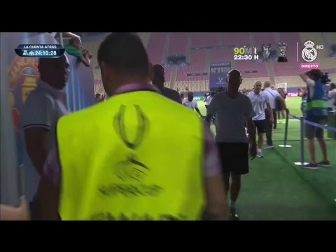 Real Madrid FULL training session before the UEFA Super Cup 2017