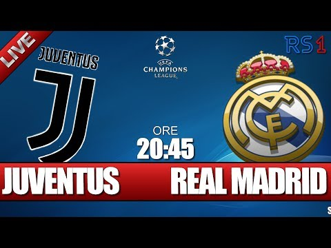 JUVENTUS – REAL MADRID – CHAMPIONS LEAGUE – 03-04-2018 – Telecronaca live in diretta streaming
