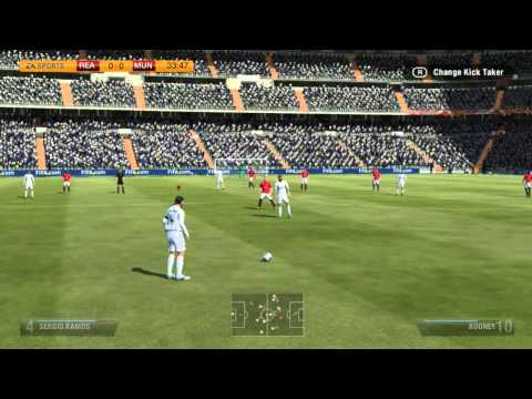 Fifa 14 PSVITA Full Match Gameplay Real Madrid VS Manchester United