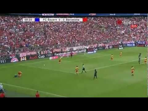 Bayern Munich vs Barcelona   Full Match 24 07 2013 Friendly   1st half