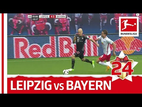RB Leipzig 4-5 Bayern München – FULL Match – Bundesliga 2017 Advent Calendar 24