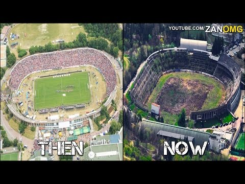 10 Abandoned Football Stadiums | Then & Now | Ft. Maracanã Stadium, Estadio Insular…etc