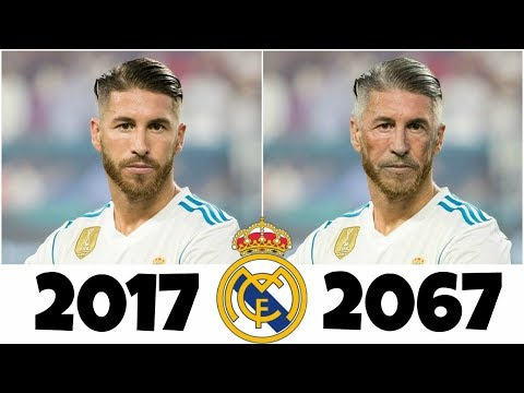 Real Madrid players after 50 years ft. Ronaldo, Bale, Ramos, Modric, Isco, Navas, Benzema….