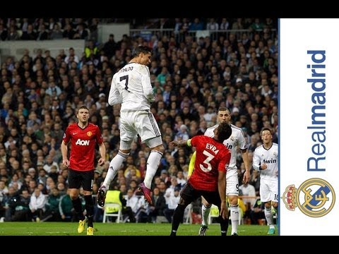 Realmadrid LIFE: Cristiano Ronaldo scores an incredible header against Manchester United in UCL