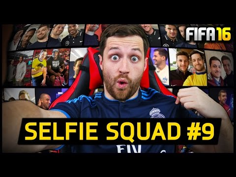 SELFIE SQUAD #9 – REAL MADRID PLAYERS! – Fifa 16 Ultimate Team