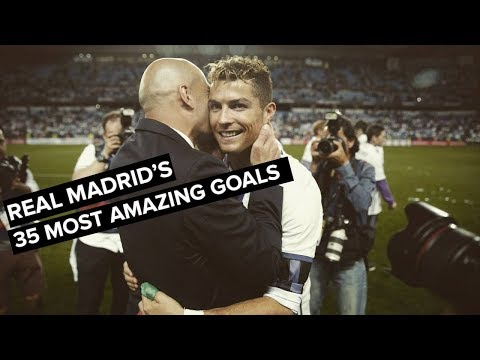 35 Most AMAZING Real Madrid Goals under Zinedine Zidane • Best Goals 2016-2018 • HD