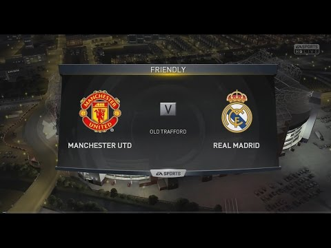 (PS4) FIFA 15 | Manchester United vs Real Madrid – Next-Gen Full Gameplay (1080p HD)