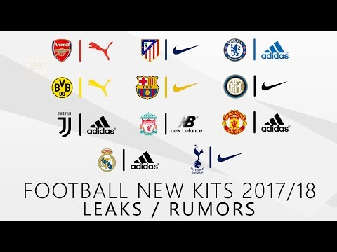 FC Barcelona, Real Madrid, Manchester United & more | NEW KITS 2017/2018 | Leaks & Rumors