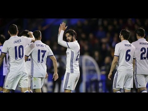 Deportivo vs Real Madrid 2-6 April 26th 2017 All Goals and Highlights!