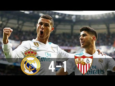 Real Madrid vs Sevilla 4-1 – All Goals & Extended Highlights – La Liga 14/05/2017 HD