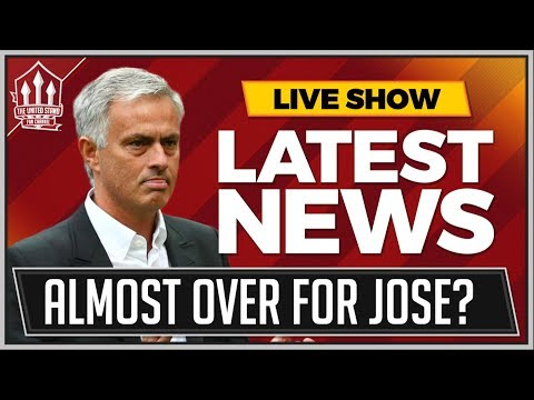 Jose Mourinho Exit Gets Closer! Man Utd News Now