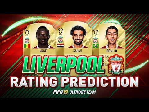FIFA 19 | LIVERPOOL PLAYER RATINGS PREDICTIONS | w/ VAN DIJK FIRMINO MANÉ & SALAH | FUT 19