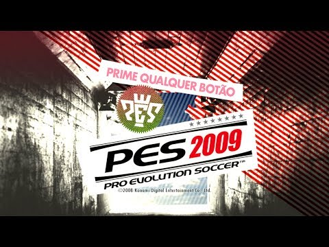 PES 2009 | WIKI | Gameplay | Barcelona x Real Madrid
