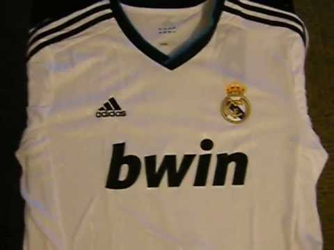 Real Madrid 2012/13 Adidas Authentic Home Football Jersey Cristiano Ronaldo