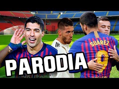 Canción Barcelona vs Real Madrid 5-1 (Parodia Taki Taki – Ozuna, DJ Snake, Selena Gomez, Cardi B)
