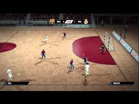FIFA STREET 4 – FUTSAL BARCELONA VS REAL MADRID