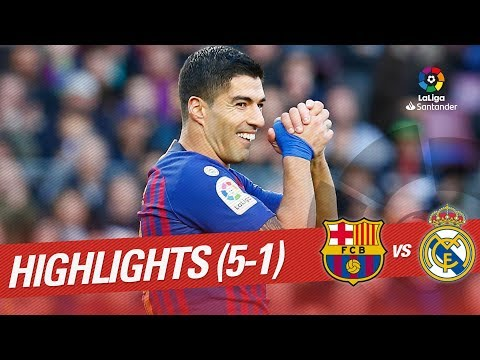 Resumen de FC Barcelona vs Real Madrid (5-1)