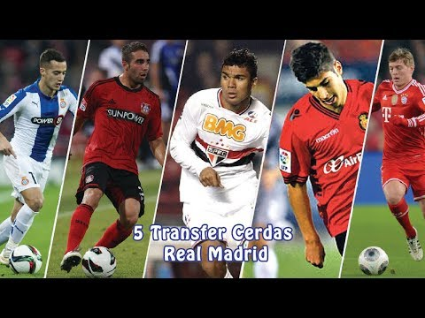5 Transfer Cerdas Real Madrid