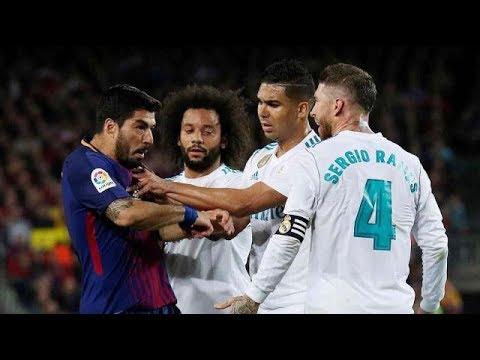 বার্সেলোনা-রিয়েল এর খেলায় হলুদ কার্ড এর ছড়াছড়ি ВАRСEL0NА VS REАL МАDRID 2–2