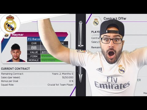 $500,000,000 WASTED IN EPIC TRANSFER WINDOW! – Real Madrid Career Mode FIFA 16 #19
