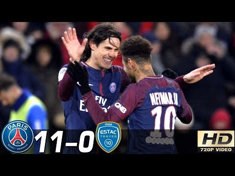 PSG vs Troyes 11-0 – All Goals & Extended Highlights RÉSUMÉ & GOLES ( Last Matches ) HD