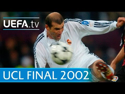 Real Madrid v Leverkusen – 2002 UEFA Champions League final highlights