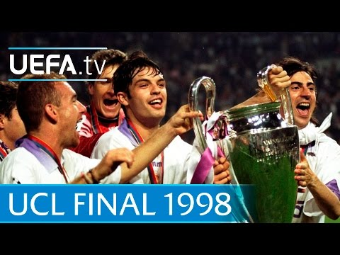 Real Madrid v Juventus: 1998 UEFA Champions League final highlights