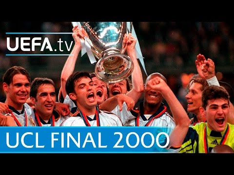 Real Madrid v Valencia – 2000 UEFA Champions League final highlights